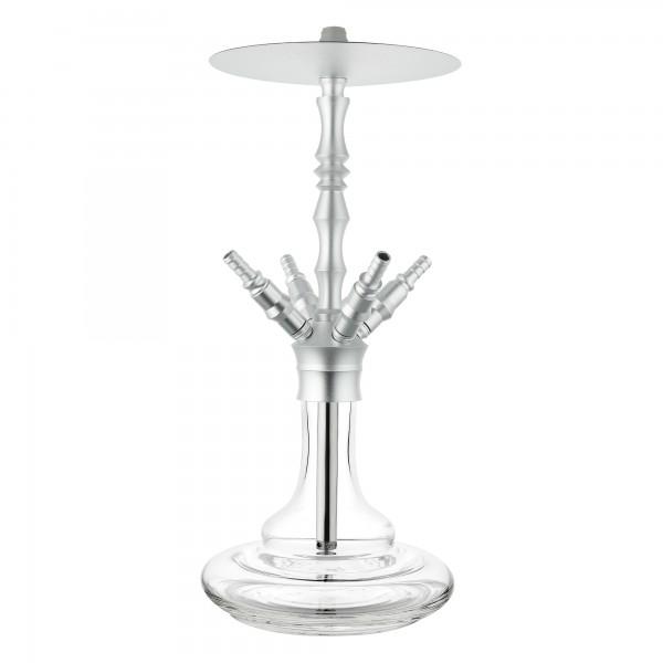 Chill Odyssey Komplettset - Silber Wasserpfeife