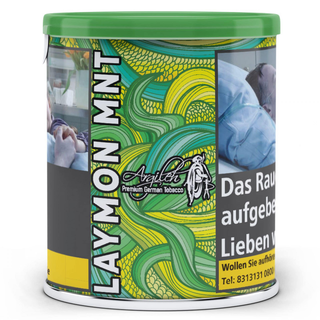 Argileh Tobacco 200g - Laymon MNT Shisha Tabak