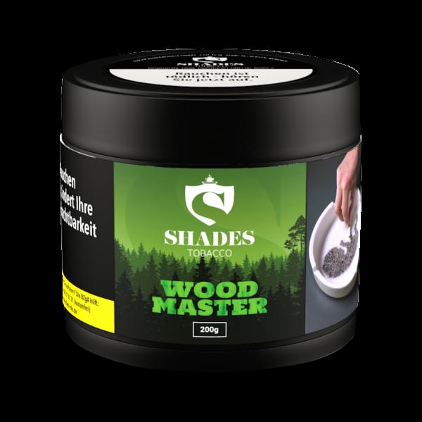 Shades Tobacco 200g - Woodmaster Shisha Tabak